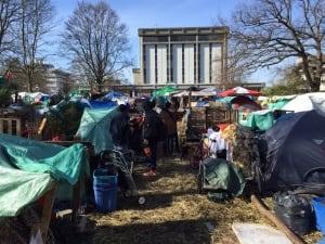 Victoria homeless camp