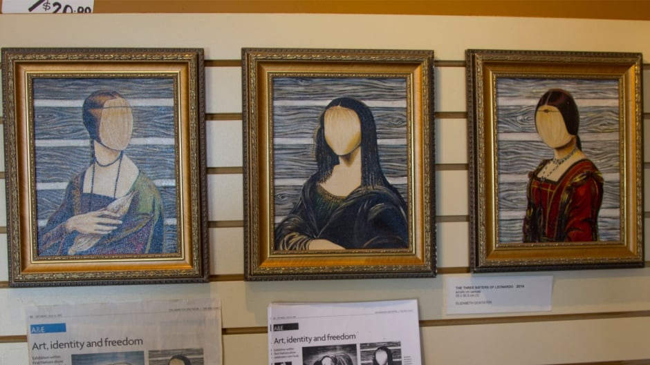 Three Sisters of Leonardo by artist Elizabeth Doxtater.