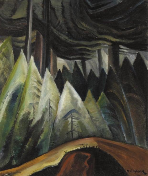 Emily Carr Forest Light