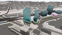 Transit hub artist conception