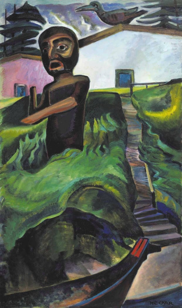 Emily Carr The Crazy Stair The Crooked Staircase