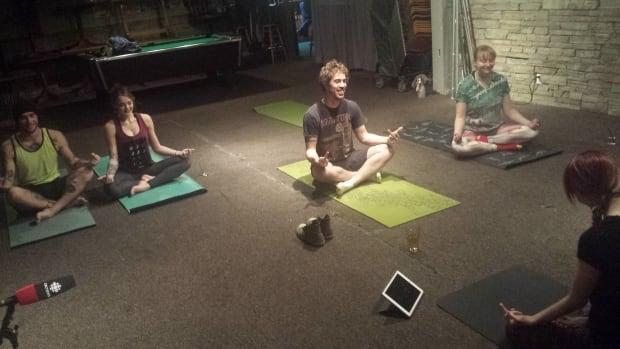 Rage Yoga class