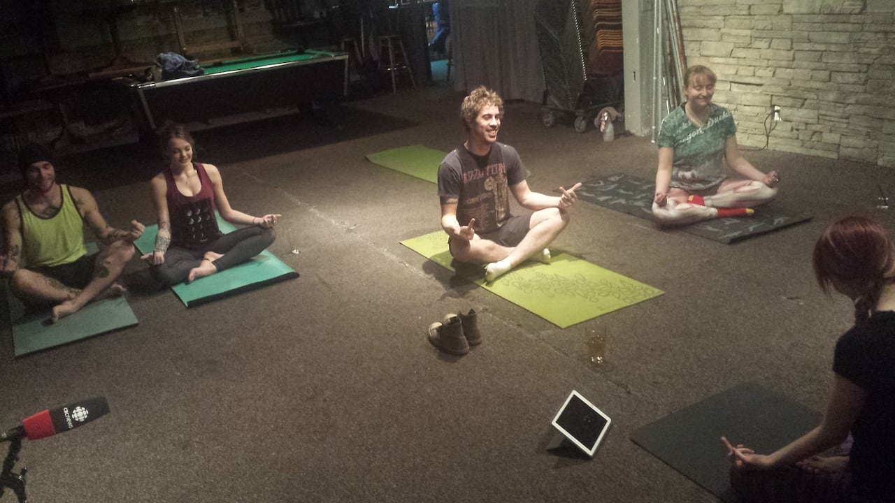 Rage Yoga Uses Screaming Swearing On Path To Better Health Cbc News