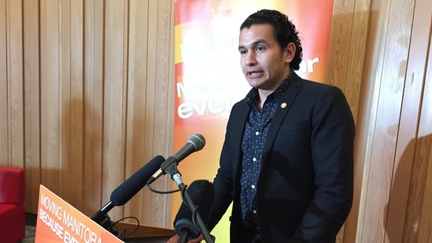 Wab Kinew, NDP candidate for Fort Rouge, apologized for using misogynistic words in his previous hip-hop music in his book The Reason You Walk.