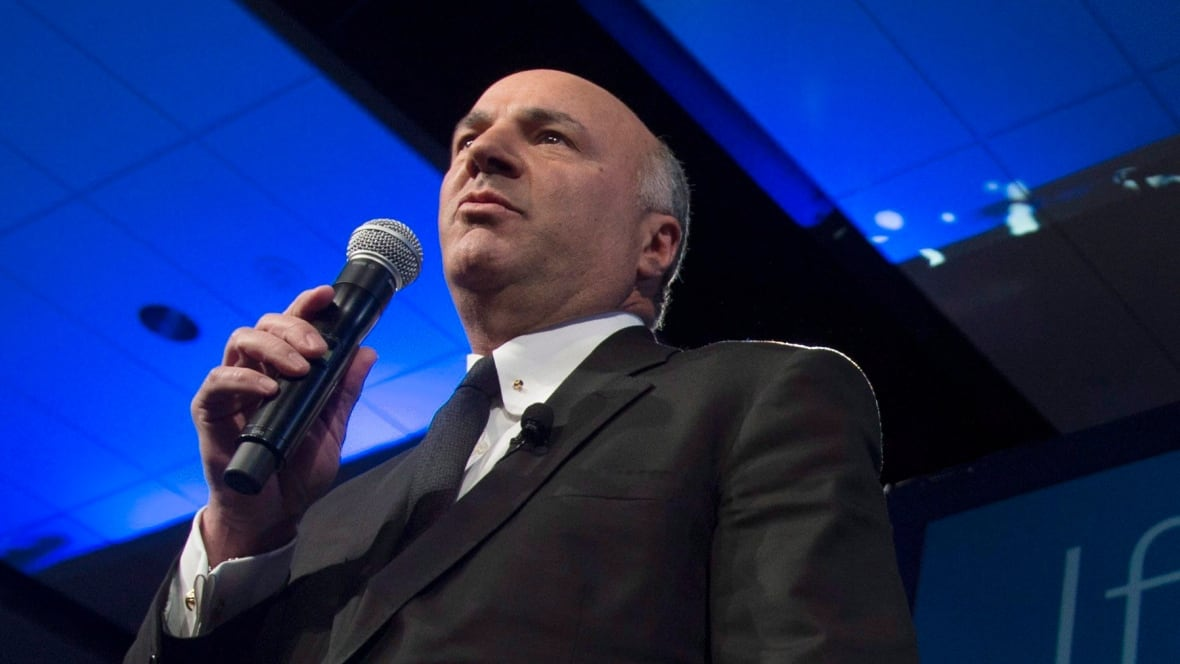 O'Leary makes it official: he's running to be federal Conservative leader