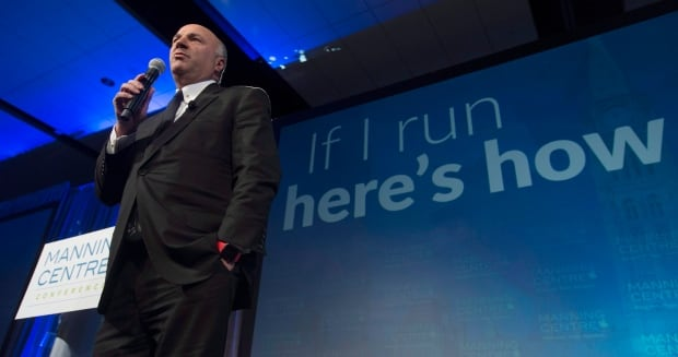 Kevin O'Leary at the Manning Conference