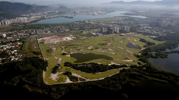 A test event for the Rio Olympic golf course will be held March 8 with nine players in an exhibition closed to the public. The course was handed over to Olympic organizers in November.