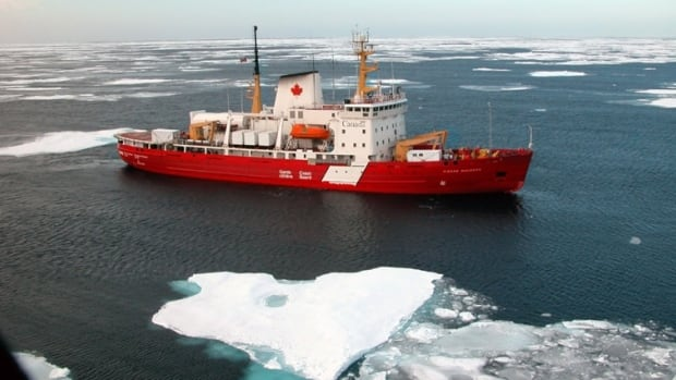 The CCGS Amundsen, an icebreaker with 40 scientists on board, was diverted from the first leg of a journey through the Arctic on Sunday to help search and rescue efforts off the coast of Newfoundland in the Strait of Belle Isle.