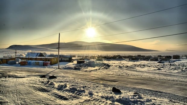 The hamlet of Clyde River, Nunavut. Clyde River was given leave Thursday morning to take its case against seismic testing off its coast to the Supreme Court of Canada.