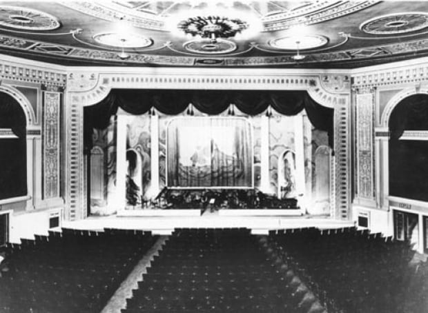 Calgary movie theatre vintage