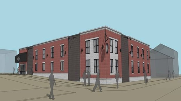 Saint John's new uptown liquor store will be designed to blend in with historic buildings nearby.