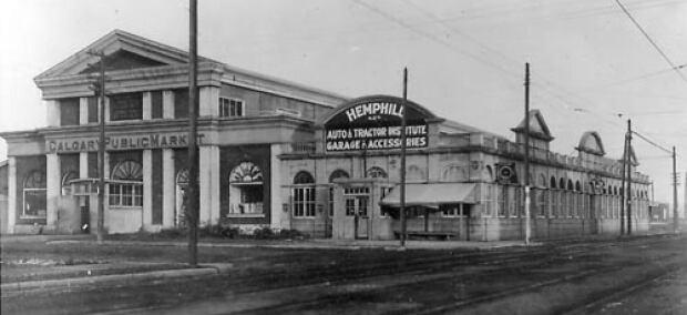 Calgary Public Market, 1922