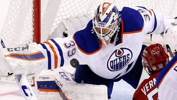 The Oilers have traded goalie Anders Nilsson to St. Louis for goalie prospect Niklas Lundstrom and a fifth-round pick in this June's NHL draft. Nilsson appeared in 26 games for last-place Edmonton this season, compiling a 10-12-2 record, 3.14 goals-against average and .901 save percentage. In 49 NHL regular-season games for the New York Islanders and Oilers, he is 19-21-4 with a 3.10 GAA and .900 save percentage.