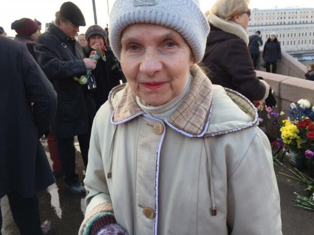 Boris Nemtsov memorial Moscow