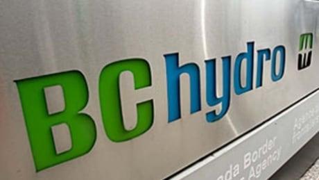 BC Hydro sign