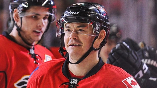The Flames on Saturday traded forward Jiri Hudler to the Panthers for a 2016 second-round pick and fourth-rounder in 2018. With 10 goals and 35 points in 53 games this season, the Czech centre has failed to build on last year's career season of 31 goals and 76 points. The NHL trade deadline is Monday at 3 p.m. ET.