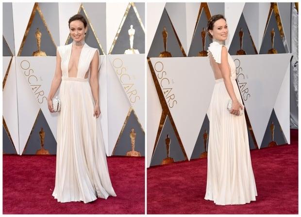 Oscars 2016 Olivia Wilde