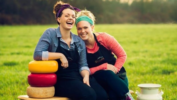 Maple Ridge sisters Emma and Jenna Davison run Golden Ears Cheesecrafters on their family's farm, which dates back to 1902.