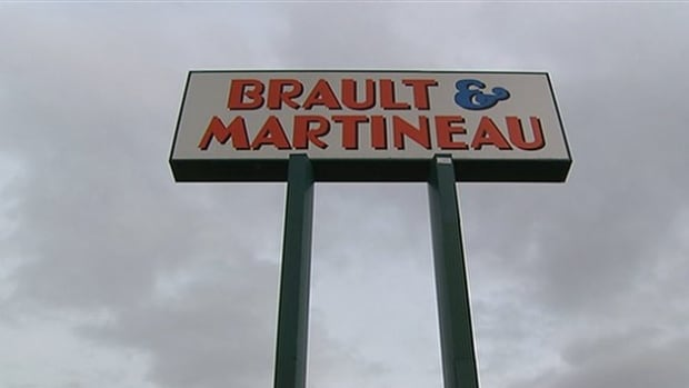Warehouse workers who showed up to their 7 p.m. shift were locked out by Brault & Martineau management.
