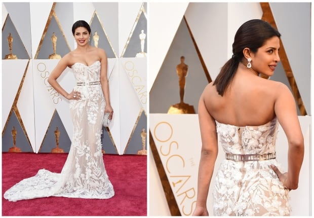 Priyanka Chopra Oscars 2016 red carpet