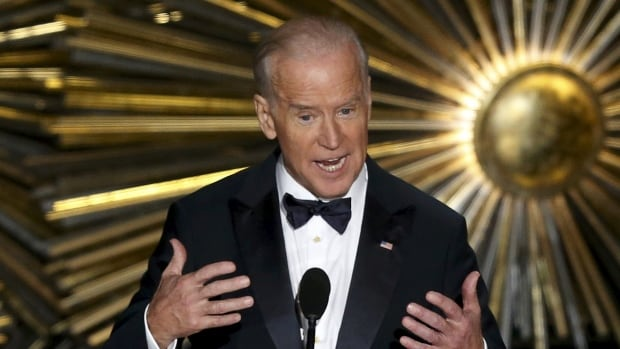 U.S. Vice-President Joe Biden received a standing ovation from the A-listers at this year's Academy Awards ceremony as he walked onstage to the theme song from Raiders of the Lost Ark. Indiana Joe, anybody?
