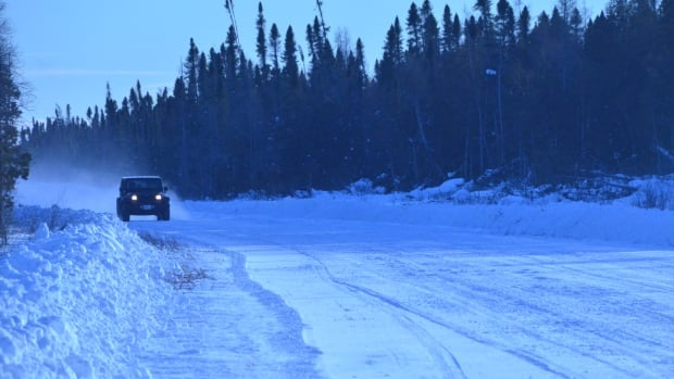 Some 5,000 cars and trucks make the trip along the winter road between Smooth Rock Falls and Moose Factory every winter.