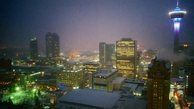 Calgary fog