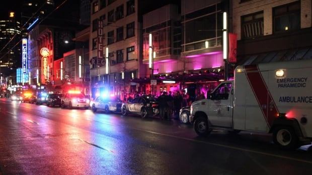 A 16-year-old boy is in custody after a girl was assaulted at the Encore Dance Club in downtown Vancouver.