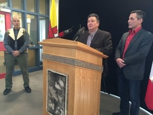 Peter Taptuna, Hunter Tootoo, Joe Savikataaqat