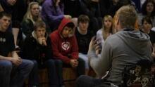 Kevin Brooks speaking event