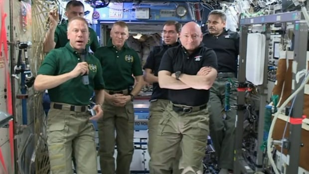ISS command handover