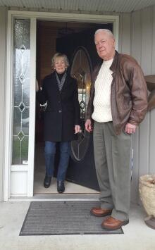 Myra Ford and John MacInnes