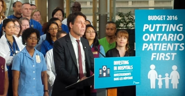 Ontario Health Minister Eric Hoskins
