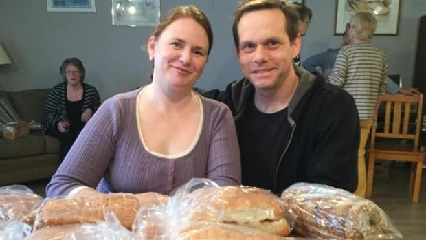 PEI Food Share founder Christy Morgan and partner Rob Ylkos feel good they're putting a dent in hunger.