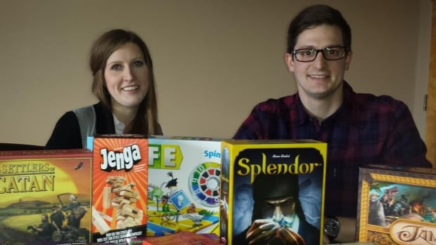 Jennifer Campbell and Julian Taylor plan to open the Small Print Board Game Cafe in Charlottetown in April.