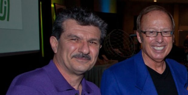 Armik Babakhanians and Sam Katz