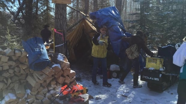 Opponents of Site C dismantle the remote protest camp that stalled BC Hydro dam construction work for two months.