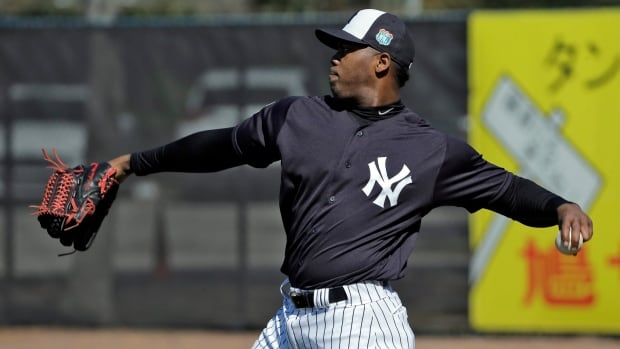 Yankees closer Aroldis Chapman has accepted a 30-game suspension under MLB's domestic violence policy. Chapman will lose 30 days of pay and 30 days of major league service.