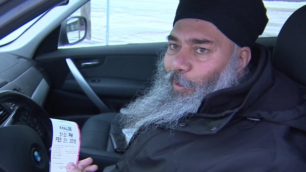 Dharminderjit Multani wasn't happy paying $21 to park downtown for three hours Monday.