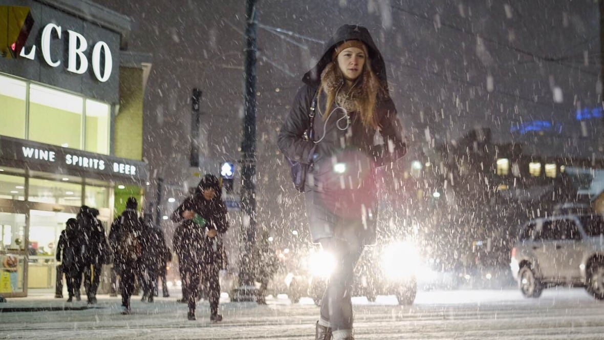 Winter Storm Southern Ontario: Winter Storm Hits Southern Ontario, Will Move Into