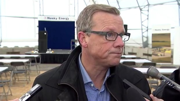 Brad Wall spoke about the injunction to reporters on Tuesday at the opening of the Edam East heavy oil thermal plant.