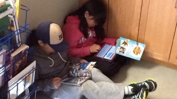 Students at Susa Creek School used the iPads daily for subjects such as literacy and math.