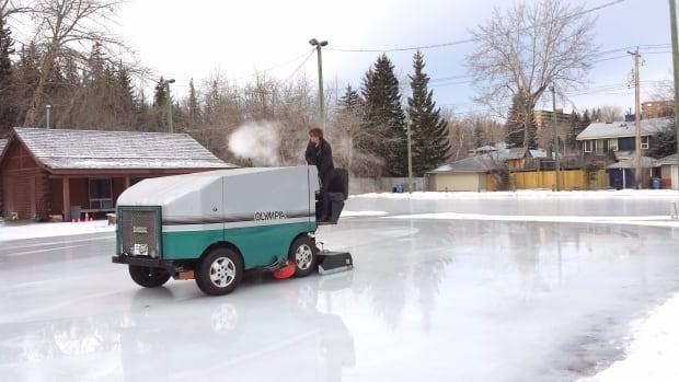 Roxboro ice rink zamboni