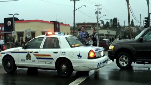 Police arrested two men in Duncan after a high-speed chase that began in Nanaimo.
