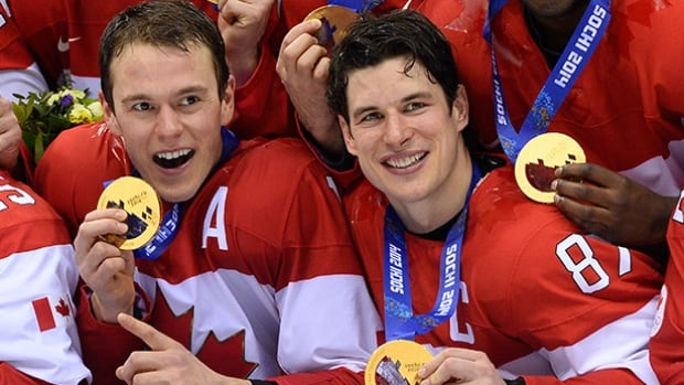 Two-time Olympic champions Jonathan Toews, left, and Sidney Crosby are considered locks to make Canada's team for the World Cup of Hockey.