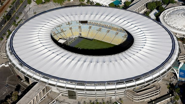"Rio Olympics organizing committee spokesman Mario Andrada says only about 47 per cent of the 7.5 million tickets on offer have been sold so far. Tickets for ""premier events"" and the Aug. 5 opening ceremony at the Maracana Stadium, pictured here, are essentially sold out, he adds. For the 2012 London Olympics, British organizers sold 8.2 million out of 8.5 million tickets."