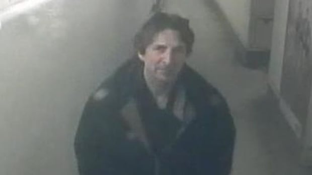 Toronto police have released a security camera image of a man who allegedly exposed himself to a woman on a GO Train on the weekend.