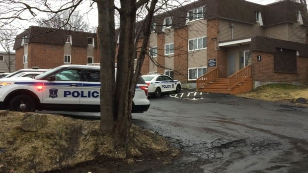 Halifax Regional Police are at an apartment building in Spryfield, where they say a man died under suspicious circumstances.