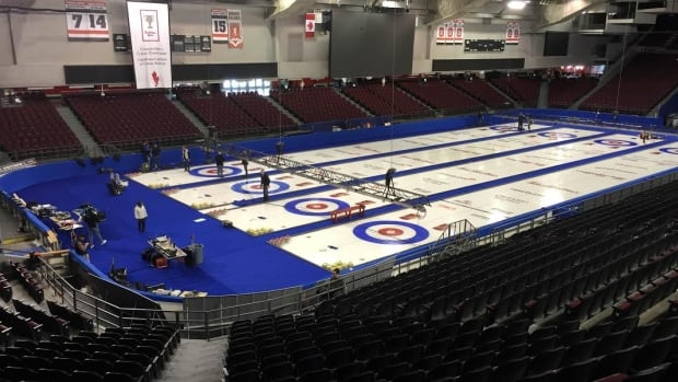 Preparations are underway for the Tim Hortons Brier. The nine-day curling competition starts Saturday, March 5 at TD Place.