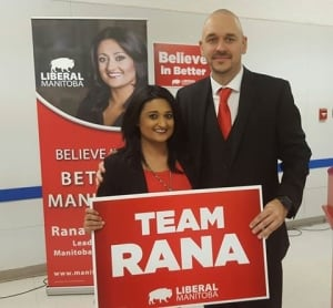 Jamie Hall and Rana Bokhari